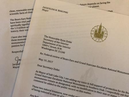 Zinke Letter